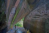Poeung Komnou, Mt. Kulen area