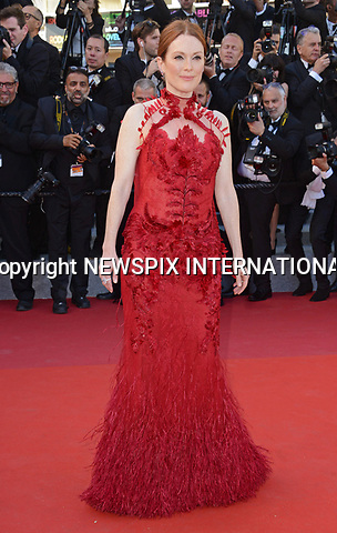 17.05.2017; Cannes, France: JULIANNE MOORE<br /> attends the premiere of &quot;Les Fantomes d'Ismael&quot; at the 70th Cannes Film Festival, Cannes<br /> Mandatory Credit Photo: &copy;NEWSPIX INTERNATIONAL<br /> <br /> IMMEDIATE CONFIRMATION OF USAGE REQUIRED:<br /> Newspix International, 31 Chinnery Hill, Bishop's Stortford, ENGLAND CM23 3PS<br /> Tel:+441279 324672  ; Fax: +441279656877<br /> Mobile:  07775681153<br /> e-mail: info@newspixinternational.co.uk<br /> Usage Implies Acceptance of Our Terms &amp; Conditions<br /> Please refer to usage terms. All Fees Payable To Newspix International