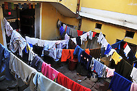 Laundry drying in Potosi, Bolivia