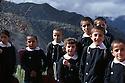 Turkey 1987 .Schoolchildren in Beit Shebab.Turquie 1987.Beit Shebab: les ecoliers