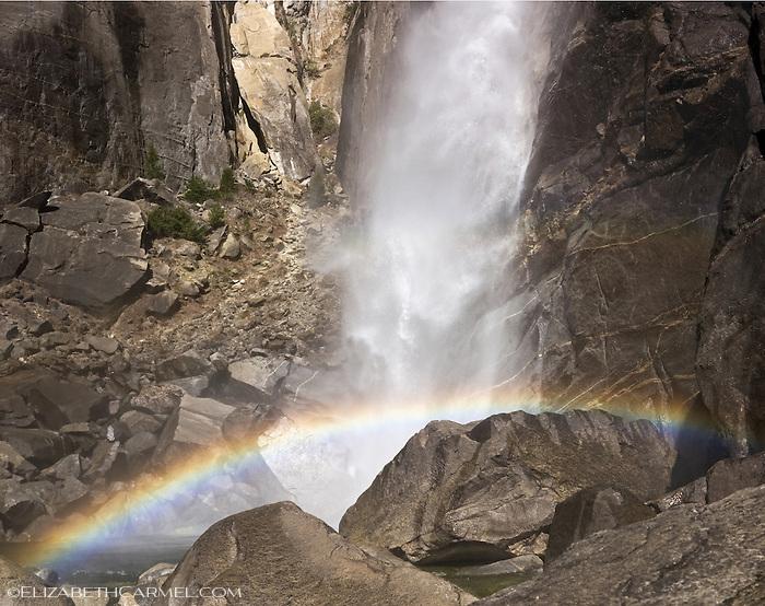 Lower Yosemite Falls Rainbow