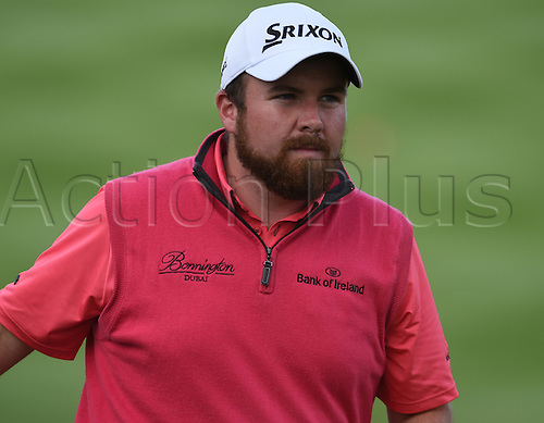 20.09.2014.  Newport, Wales. ISPS Handa Wales Open Golf. Day 3. Shane Lowry finishes his round in second place