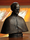 Apr. 14, 2011; Bust of Blessed Basil Moreau..Photo by Matt Cashore/University of Notre Dame