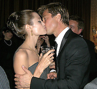 Angelina Jolie &amp; Brad Pitt<br />