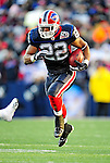 20 December 2009: Buffalo Bills' running back Fred Jackson rushes for yardage during a game against the New England Patriots at Ralph Wilson Stadium in Orchard Park, New York. The Patriots defeated the Bills 17-10. Mandatory Credit: Ed Wolfstein Photo
