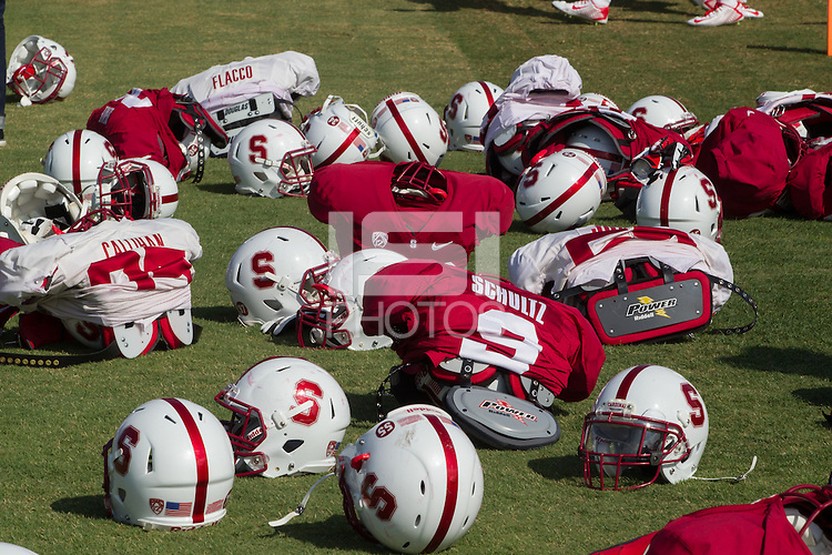 Stanford, Ca - Saturday, August 16, 2014. Stanford Football Practice and Open House