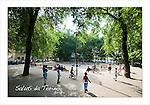 Cartoline da Barriera di Milano<br /> I giardini di largo Sempione