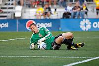 24 OCTOBER 2010:  Philadelphia Union goalkeeper Chris Seitz (1) during MLS soccer game against the Columbus Crew at Crew Stadium in Columbus, Ohio on August 28, 2010.