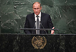 Address by His Excellency Vladimir Putin, President of the Russian Federation
