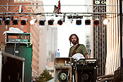 September 7, 2012. Raleigh, North Carolina.. Built to Spill played City Plaza on day 2 of Hopscotch 2012.