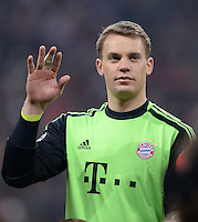 FUSSBALL  CHAMPIONS LEAGUE  VIERTELFINALE  HINSPIEL  2012/2013      FC Bayern Muenchen - Juventus Turin       02.04.2013 Torwart Manuel Neuer (FC Bayern Muenchen)