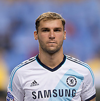 Branislav Ivanovic.  The MLS All-Stars defeated Chelsea, 3-2.