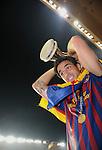 Fussball Uefa Supercup 2011: FC Barcelona - FC Porto