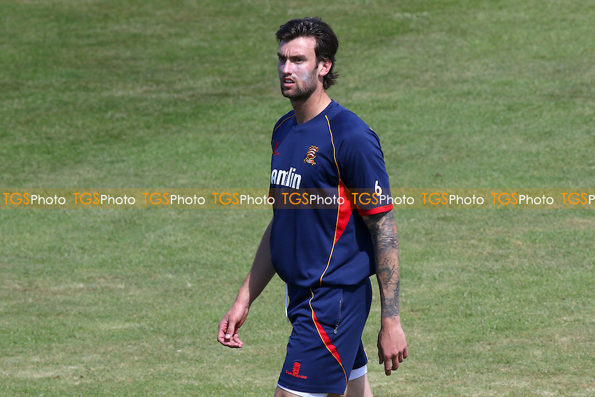 Reece Topley of Essex looks on ahead of the start of play on Day One - Northamptonshire CCC vs Essex CCC - LV County Championship Division Two Cricket at the County Ground, Abington, Northampton - 07/06/15 - MANDATORY CREDIT: TGSPHOTO - Self billing applies where appropriate - contact@tgsphoto.co.uk - NO UNPAID USE