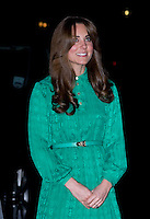 Kate, Duchess Of Cambridge officially opens the new Treasures Gallery - London