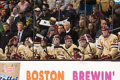Bert Lenz (BC - Director, Sports Medicine), Colin Sullivan (BC - 2), Greg Brown (BC - Associate Head Coach), Danny Linell (BC - 10), Johnny Gaudreau (BC - 13), Pat Mullane (BC - 11), Tom Maguire (BC - Senior Manager), Jerry York (BC - Head Coach), Kevin Hayes (BC - 12), Quinn Smith (BC - 27), Patrick Brown (BC - 23) - The Boston College Eagles defeated the Northeastern University Huskies 6-3 on Monday, February 11, 2013, at TD Garden in Boston, Massachusetts.