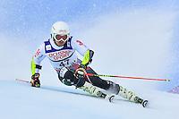 February 17, 2017: Albert POPOV (BUL) competing in the men's giant slalom event at the FIS Alpine World Ski Championships at St Moritz, Switzerland. Photo Sydney Low