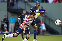 PORTLAND, Ore. - July 9, 2013: Chris Wondolowski scores his third goal The US Men's National team plays the National team of Belize during the 2013 Gold Cup at at JELD-WEN Field.