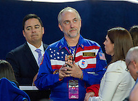 Richard Garriott, famed video game developer, attends the Hillary Clinton Election Night Event at the Jacob K. Javits Convention Center in New York, New York on Tuesday, November 8, 2016.<br />