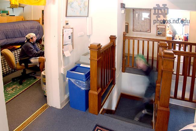 Interior of Old College..Photo by Matt Cashore..
