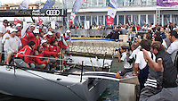 ITALY, Sardinia, Cagliari, AUDI MedCup, 25th September 2010,  Region of Sardinia Trophy, Matador, winners of the Region of Sardinia Trophy.