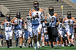 24 August 2008: The Rochester Rattlers take the field prior to facing the Denver Outlaws at the Championship Game of the Major League Lacrosse Championship Weekend at Harvard Stadium in Boston, MA. The Rattles took control of the second half and defeated the Outlaws 16-6 to take the league honor for the 2008 season...Mandatory Photo Credit: Ed Wolfstein Photo