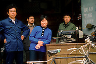 April 15th, 1989, Poyang, Jiangxi Province, China: Dialy Life, small business selling electronics.