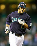 Seattle Mariners'  Casey Kotchman runs the bases after hitting a solo home run against the Baltimore Orioles at SAFECO Field in Seattle April 19, 2010. The  Mariners beat the Orioles 8-2. Jim Bryant Photo. ©2010. ALL RIGHTS RESERVED.©2010. ALL RIGHTS RESERVED.