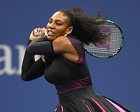 FLUSHING NY- SEPTEMBER 01: Serena Williams Vs Vania King on Arthur Ashe Stadium at the USTA Billie Jean King National Tennis Center on September 1, 2016 in Flushing Queens. Credit: mpi04/MediaPunch