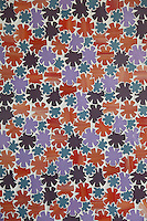 Flowers, a waterjet glass mosaic shown in Sonia, Rolly, Sardonyx and Alexander, is part of the Erin Adams Collection for New Ravenna Mosaics.