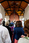 Caulfields line up for communion at Saint Patrick's Church in Granlahan, County Roscommon, Ireland on Tuesday, June 25th 2013. (Photo by Brian Garfinkel)