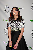 "LOS ANGELES - MAR 8:  Michaela Conlin arrives at the ""Bones"" Event at PaleyFest 2012 at the Saban Theater on March 8, 2012 in Los Angeles, CA"