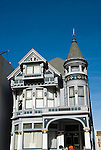 California: San Francisco. Haas-Lilienthal Victorian house. Photo copyright Lee Foster. Photo #: san-francisco-victorians-22-casanf77476