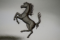 black prancing horse ferrari decal