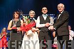 Nora O Connor, Elaine O Leary, John Burns, Donal Murphy.     Elaine  & John  winners of Judges vote.