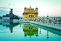 The Sikh Golden Temple, Amritsar, in Punjab, India