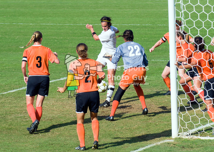 Campbell shuts out VMI Women's Soccer, 2-0