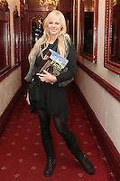 """NO REPRO FEE. 17/1/2010. The Field opening night. Amanda Brunker is pictured at the Olympia Theatre for the opening night of John B Keanes 'The Field"""" Picture James Horan/Collins"""