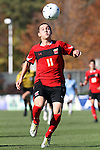 14 November 2010: Maryland's Casey Townsend. The University of Maryland Terrapins defeated the University of North Carolina Tar Heels 1-0 at WakeMed Soccer Park in Cary, North Carolina in the ACC Men's Soccer Tournament Championship game.