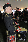 Fund raiser for firefighter Ray Pfeifer on Saturday, March 31, 2012, at East Meadow Firefighters Benevolent Hall, New York, USA. The Nassau County Firefighters Pipe and Drum band performed.