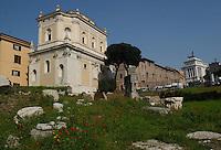 Chiesa Santa Maria in Campitelli. A view of the church of Santa Maria in Campitelli in Rome, Italy..