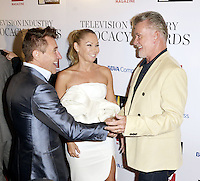 HOLLYWOOD, CA - SEPTEMBER 16: Alan Thicke, Kim Herjavec and Robert Herjavec attend The Television Industry Advocacy Awards benefiting The Creative Coalition hosted by TV Guide Magazine & TV Insider at the Sunset Towers Hotel on September 16, 2016 in Hollywood, CA. Credit: Koi Sojer/Snap'N U Photos/MediaPunch