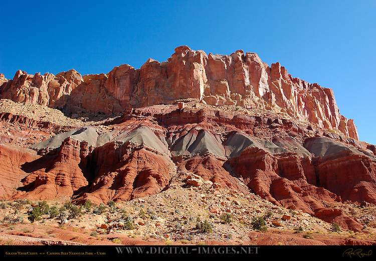 Grand Wash Cliffs, Capitol Reef National Park, Utah