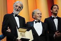 Michael Haneke - Palme d'Or 65th Cannes Film Festival