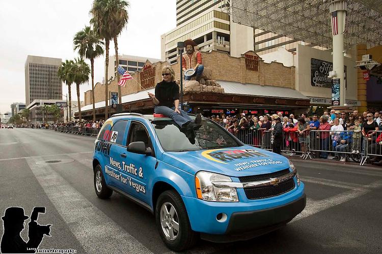 2009 Veterans Day Parade in downtown Las Vegas