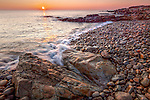Sunrise at Bass Rocks, Gloucester, Massachusetts, USA