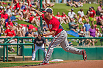21 March 2015: Washington pitcher Evan Meek on the mound during a Spring Training Split Squad game against the Atlanta Braves at Champion Stadium at the ESPN Wide World of Sports Complex in Kissimmee, Florida. The Braves defeated the Nationals 5-2 in Grapefruit League play. Mandatory Credit: Ed Wolfstein Photo *** RAW (NEF) Image File Available ***