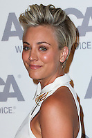 BEL AIR, CA, USA - OCTOBER 22: Kaley Cuoco arrives at the 2014 ASPCA Compassion Award Dinner Gala held at a Private Residence on October 22, 2014 in Bel Air, California, United States. (Photo by Xavier Collin/Celebrity Monitor)