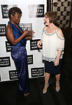 LaChanze and Patti LuPone attends New York Theatre Workshop's 2017 Spring Gala at the Edison Ballroom on May 15, 2017 in New York City.