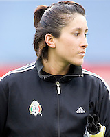 Mexico's Sophia Perez during the team presentation. USA women's national team defeated Mexico 5-0 at Gillette Stadium in Foxborough MA on April 14, 2007